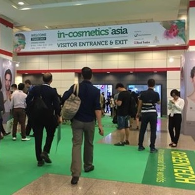 Trends & Highlights of in-cosmetics Asia 2017