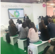 Sustainability Corner at in-cosmetics Global 2018