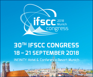 30th IFSCC Congress 2018  in Munich