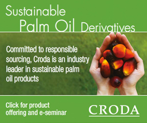 Croda Sustainable Palm Oil Derivatives