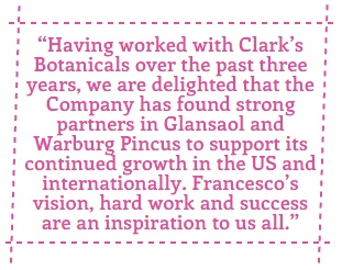Glansaol to Acquire Clark's Botanicals & Color Cosmetic Line Laura Geller