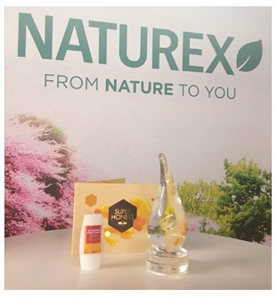 Naturex Gets Innovation Award for Moisturizing Body Shower