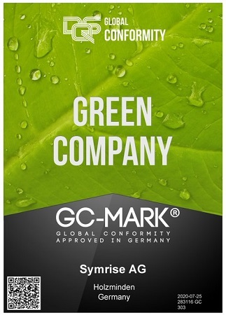 Symrise Gets Recognition as Green Company Yet Again