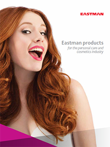 Eastman products for the personal care and cosmetics industry