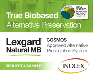 True Biobased Alternative Preservation by Inolex