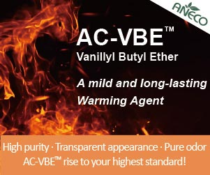 AC-VBE: Mild and long-lasting warming agent